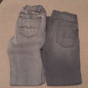 7 for all mankind boys jeans size 7